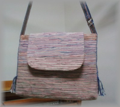 課題のバッグ