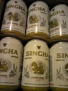 「シンハービール」ブンロートブルワリー(タイ)