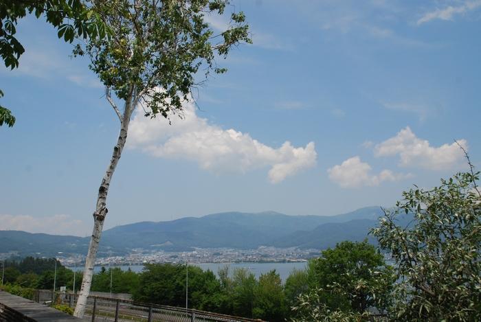 諏訪湖SAからの眺め3