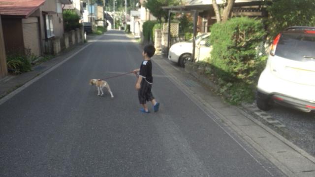 7.22散歩