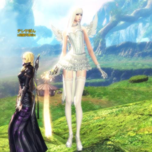 白天使の服