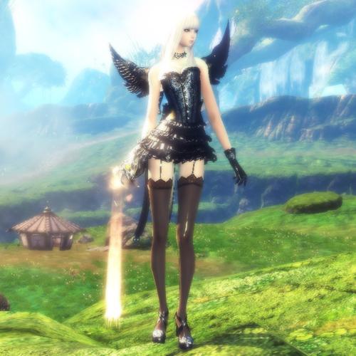黒天使のふく