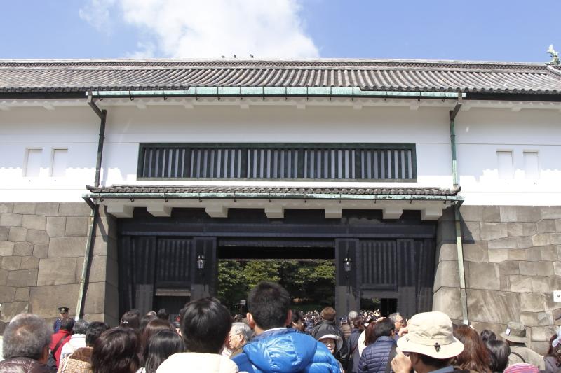 4.6皇居坂下門