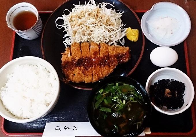ランチ・カツ定食_20140903