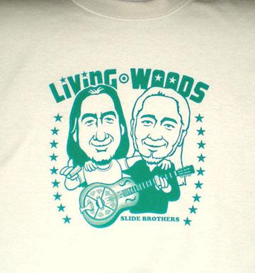 Living Woods Tシャツ