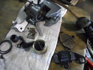 Mフロント足回り修理ブレーキ (12)