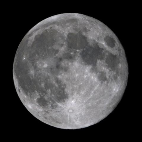 十六夜のスーパー満月