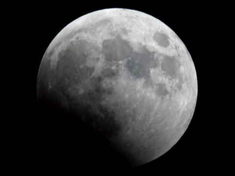 【皆既月食2014年10月08日】18時23分