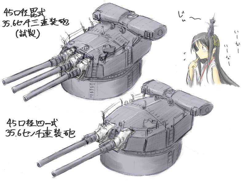 試製36センチ砲