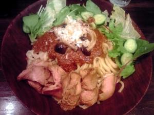 綿麺 フライデーナイト Part73 (14/8/22) まぜそば(味噌)
