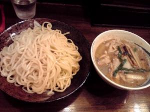 綿麺 フライデーナイト Part74 (14/9/12) 焼きネギとしめじの豚しゃぶつけ麺