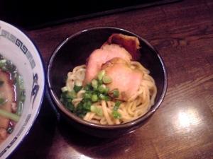 綿麺 フライデーナイト Part75 (14/9/26) 塩らーめん(替え玉)