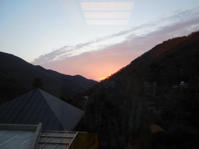 箱根の日の出3