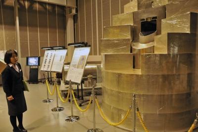 幌延深地層研究センターの展示施設