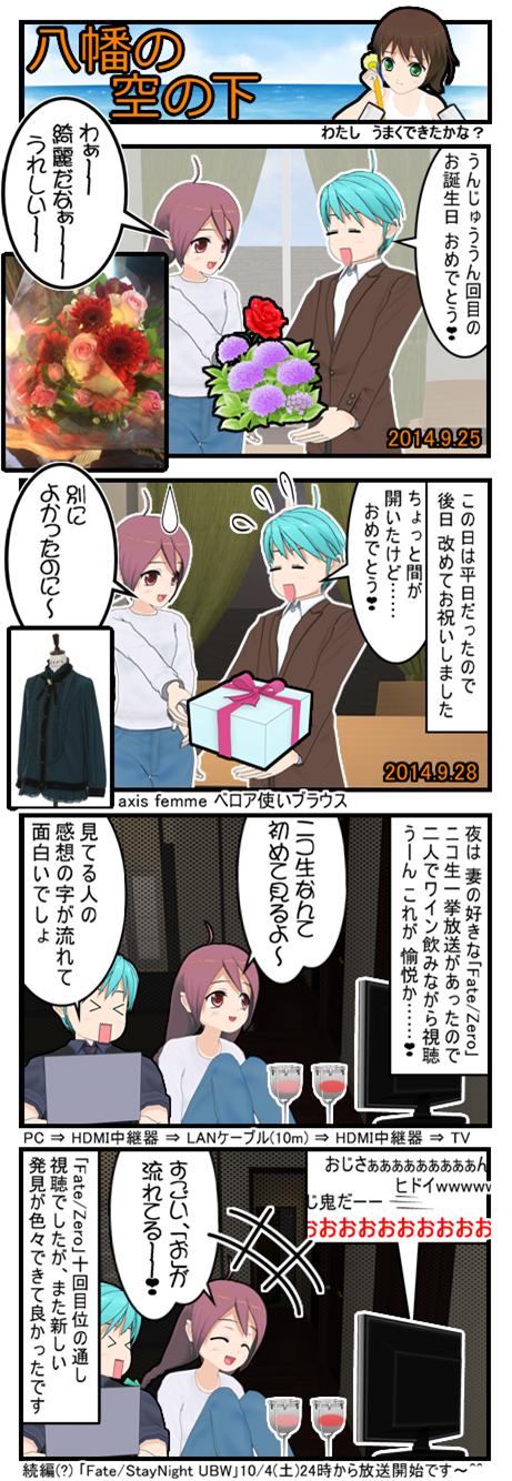 八幡の空の下#102誕生日2014_001