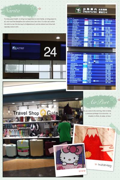 イタリア成田空港140903