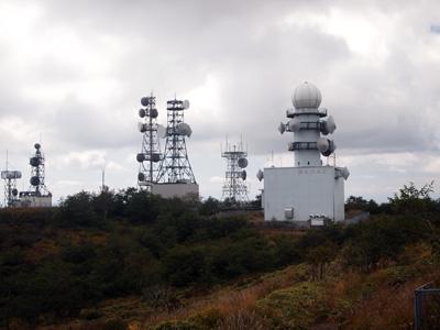 山頂レーダー