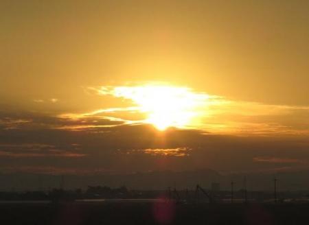 日の出朝焼け 041