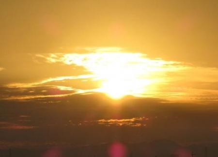 日の出朝焼け 042