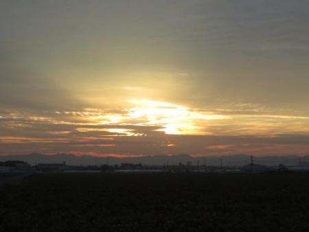 日の出朝焼け 028