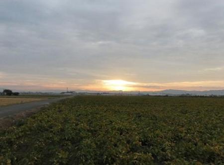 日の出朝焼け 075