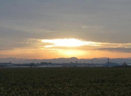 日の出朝焼け 071