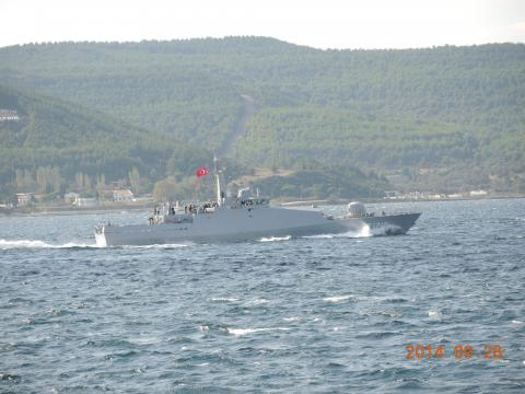 トルコ海軍の警備艇