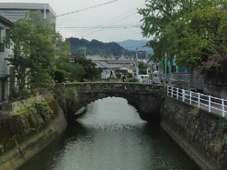 潮見橋近くの石橋