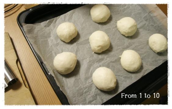 塩麹白パン①