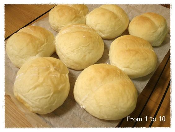 塩麹白パン②