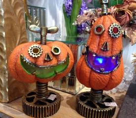 9月16日ハロウィンかぼちゃライト