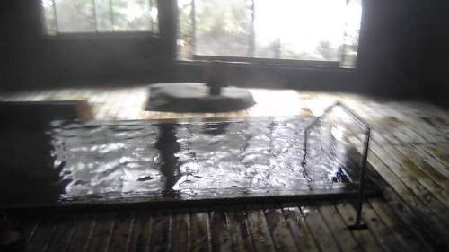 蟹場温泉内湯