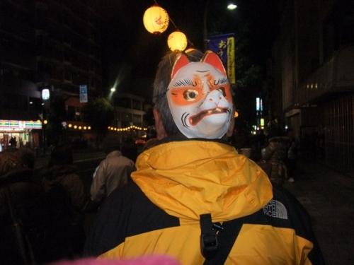 狐の行列14