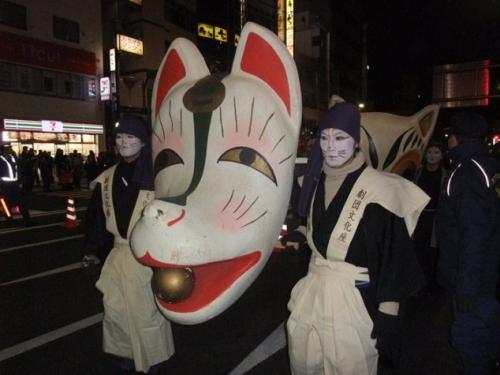 狐の行列18