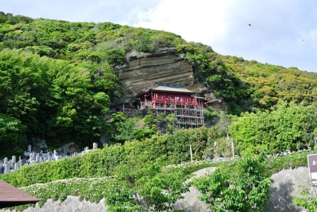 崖観音 船形山 大福寺 (1)