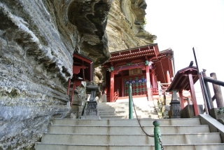 崖観音 船形山 大福寺 (2)