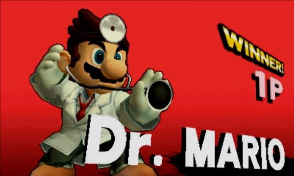 ドクターマリオ スマブラ3DS