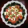 鮪と豆腐といくらのカルバッチョ