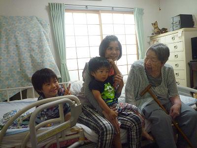 祖母との面会