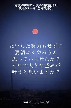 恋愛の神様2014年5月