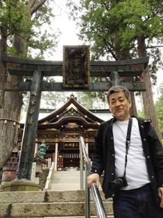 三峰神社にて - コピー