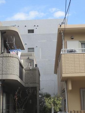 外壁補修工事完了