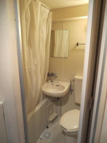 202号室シャワーカーテン