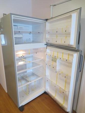 雑司ヶ谷冷蔵庫内