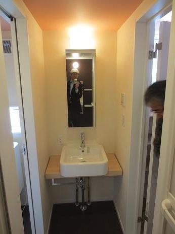府中アパートU7洗面台