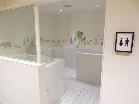 キラリナオープン子供トイレ