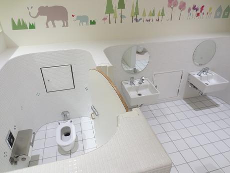 キラリナオープン子供トイレ洗面