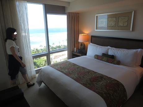 トランプホテルベッドルーム