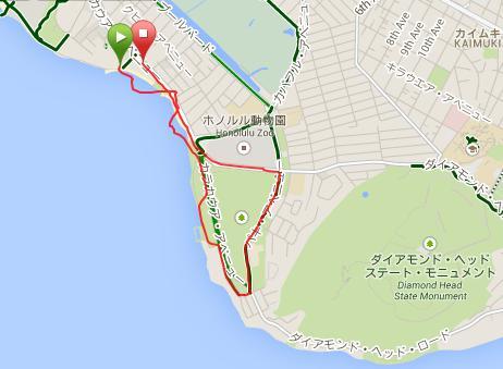 ジョギング地図140917