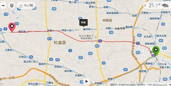 通学の帰路141007